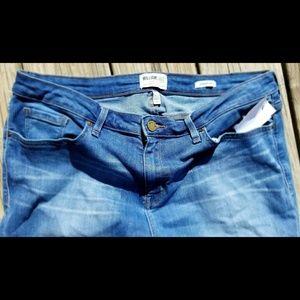William Rast slim straight super stretchy jeans